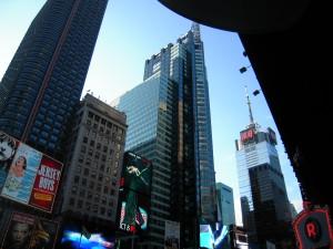 Times Square, le jour