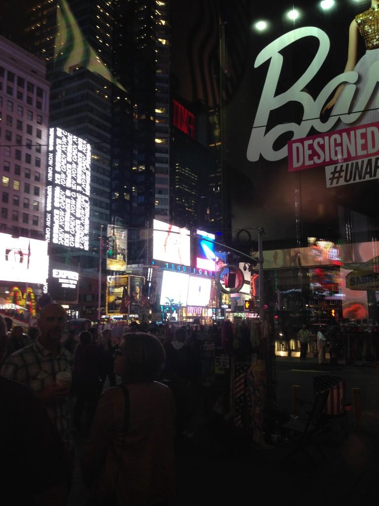 Times Square la nuit (c'est plus joli que le jour)