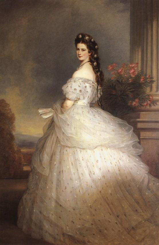 Empress_Elisabeth_of_Austria_with_diamond_stars_on_her_hair