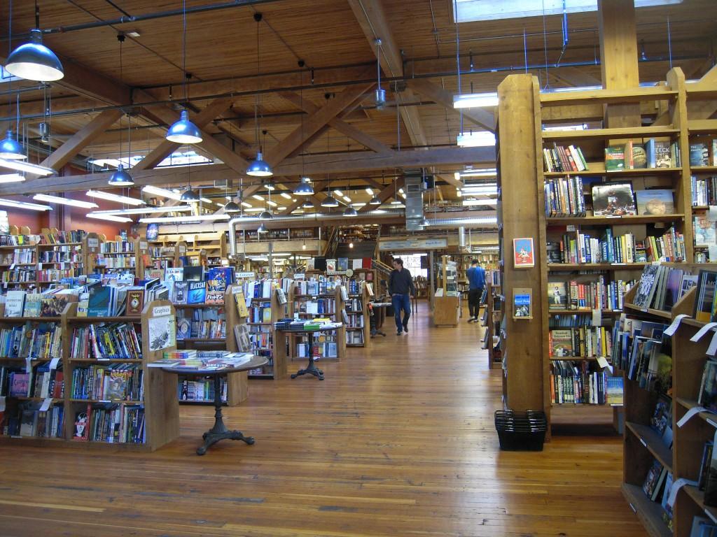 Une géniale librairie : Eliott Bay Book Company, à Seattle