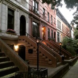 J ai pas pris de photo jeudi, alors en voici une de mon quartier, à Brooklyn