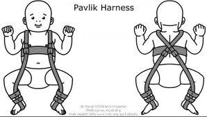 Le harnais de Pavlik, c'est ça.