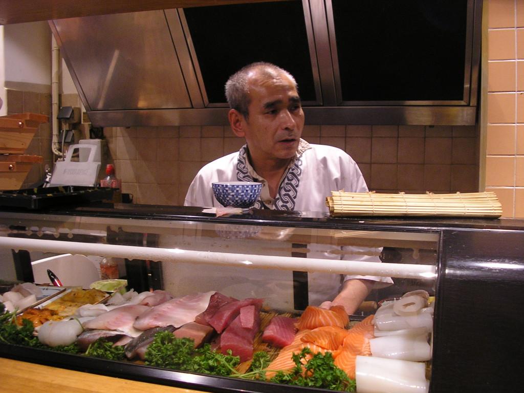 Le chef au comptoir