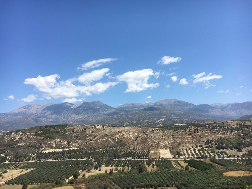 Le mont Ida (aujourd'hui Psiloritis)
